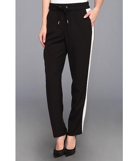 Pantaloni Juicy Couture - Pull On Crepe Pant - Pitch Black