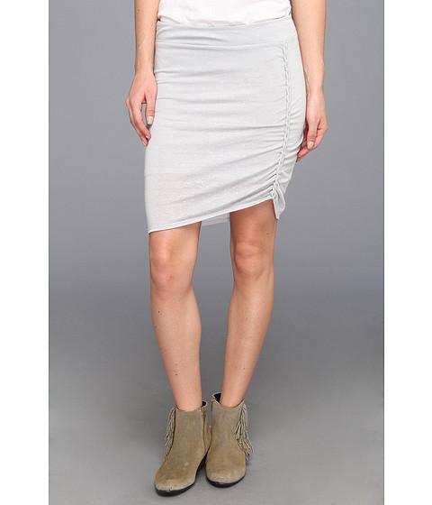Fuste Free People - Lots O Knots Skirt - Light Grey Heather