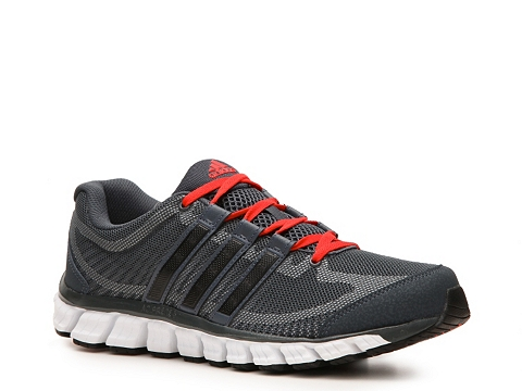Pantofi adidas - Liquid Ride Lightweight Running Shoe - Mens - Grey/Red/Black