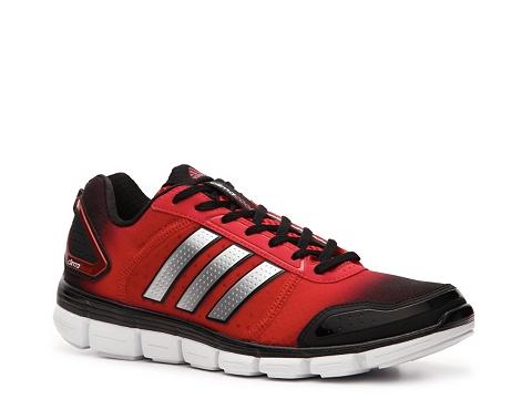 Pantofi adidas - Climacool Aerate 3 Lightweight Running Shoe - Mens - Red/Black/Silver
