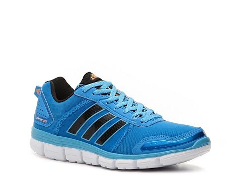 Adidasi adidas - Climacool Aerate 3 Lightweight Running Shoe - Womens - Blue/Black