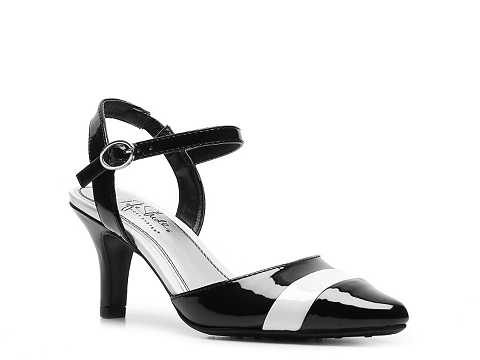 Pantofi LifeStride - Klassy Pump - Black/White