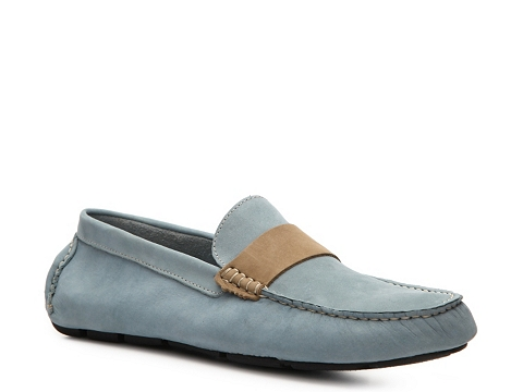 Pantofi Mercanti Fiorentini - Moc Loafer - Blue/Tan