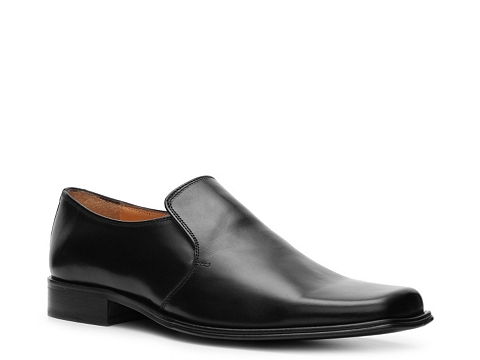 Pantofi Mercanti Fiorentini - Square Toe Slip-On - Black