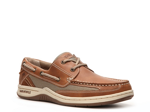 Pantofi Margaritaville - Anchor Boat Shoe - Tan