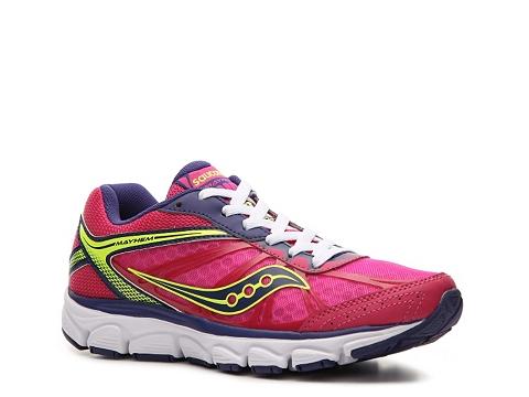 Adidasi Saucony - Grid Mayhem Lightweight Running Shoe - Womens - Pink/Purple/Yellow