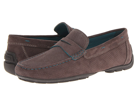 Pantofi Geox - Uomo Monet - Ebony