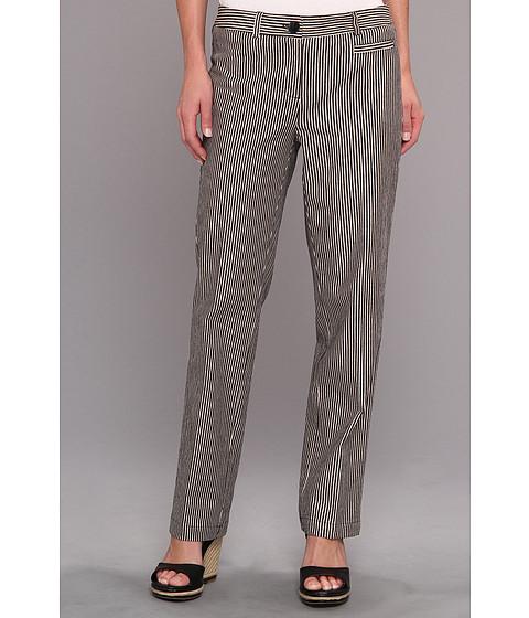 Pantaloni Jones New York - Slim Leg Welt Pant - Black/Shell