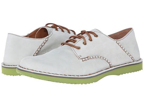 Pantofi Born - Gleason - Lino Suede Green BTM
