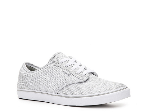 Adidasi Vans - Atwood Low Sneaker - Womens - Silver/White