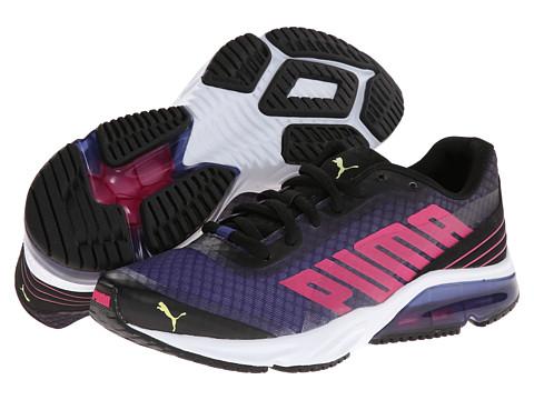Adidasi PUMA - Powertech Defier Fade - Black/Beetroot Purple/Sunny Lime