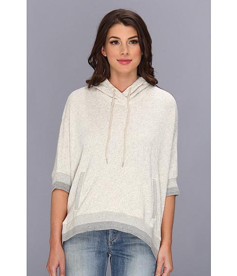 Bluze Alternative Apparel - Hooded Cape - Wheat