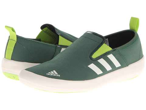 Adidasi adidas - Boat Slip-On DLX - Amazon Green/Chalk/Solar Slime
