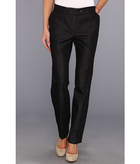 Pantaloni Jones New York - The Jordan Pant Refined Denim Pant - Black