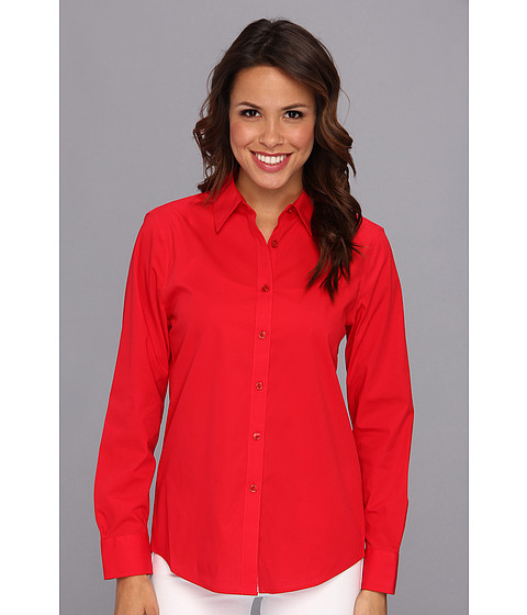 Camasi Jones New York - No-Iron Easy-Care Relaxed Fit Shirt - Scarlet