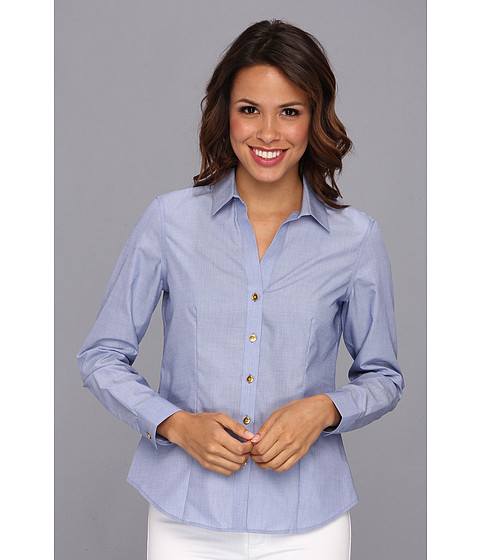 Camasi Jones New York - Non-Iron Easy-Care Fitted Shirt - Seaport