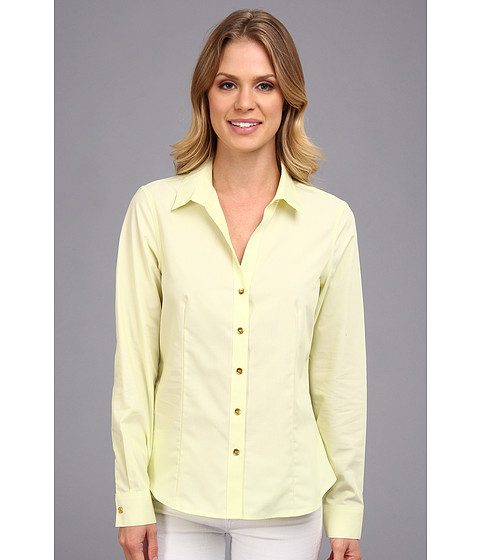 Camasi Jones New York - Non-Iron Easy-Care Fitted Shirt - Sorbet