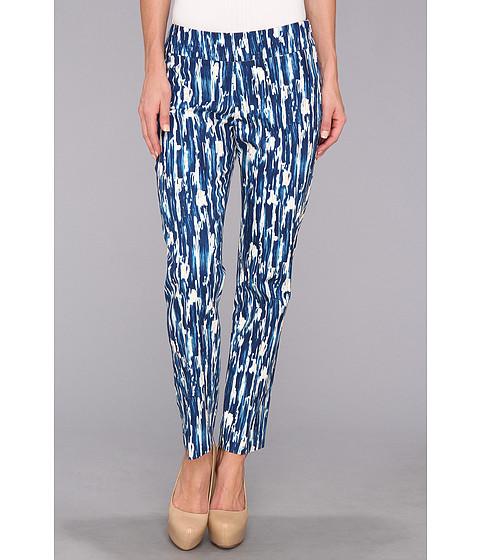 Pantaloni NIC+ZOE - Ocean Rain Print Ankle Pant - Multi