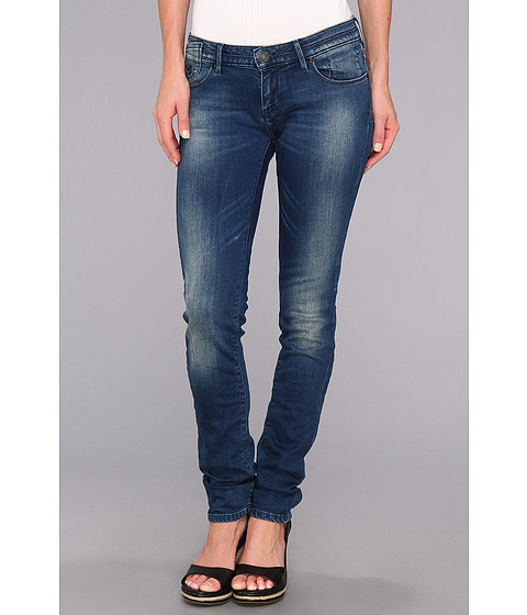 Blugi Maison Scotch - Parisenne Skinny in Denim Blue - Denim Blue