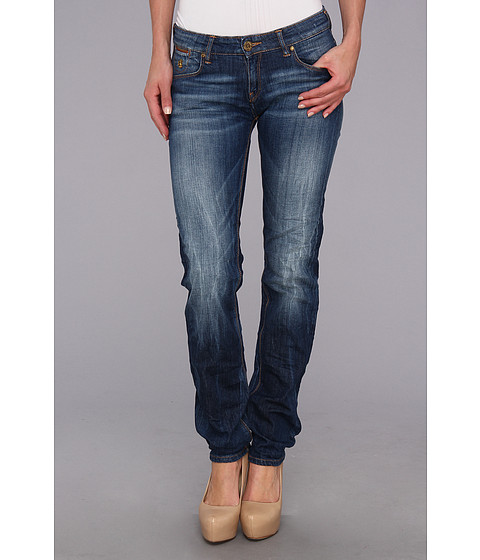 Blugi Maison Scotch - Straight Leg in Denim Blue - Denim Blue