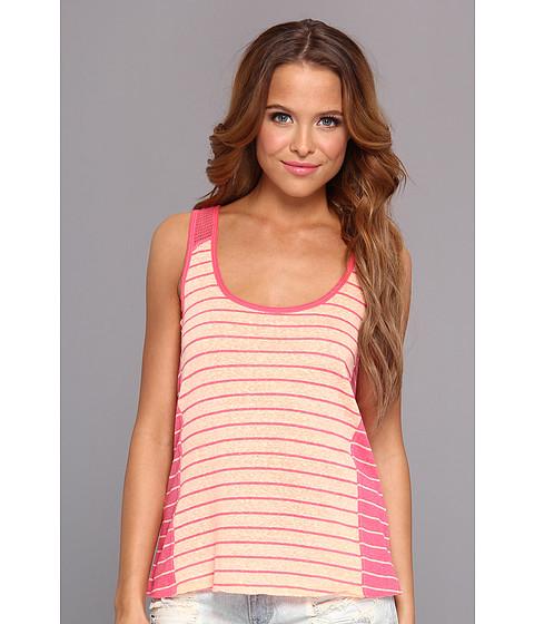 Bluze UNIONBAY - Seaside Stripe Tank - Flamingo