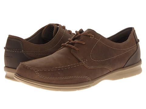 Pantofi Clarks - Rattlin Deck - Brown Leather