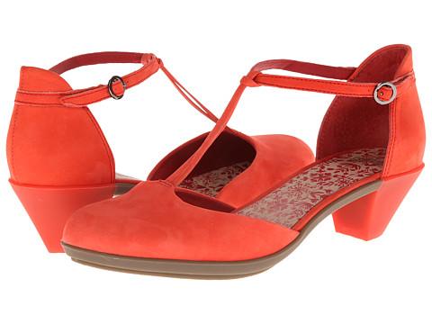 Pantofi Camper - Agatha T-Strap 21899 - Medium Red