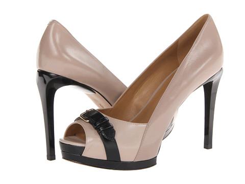 Pantofi Nine West - Diamonella - Light Taupe Leather