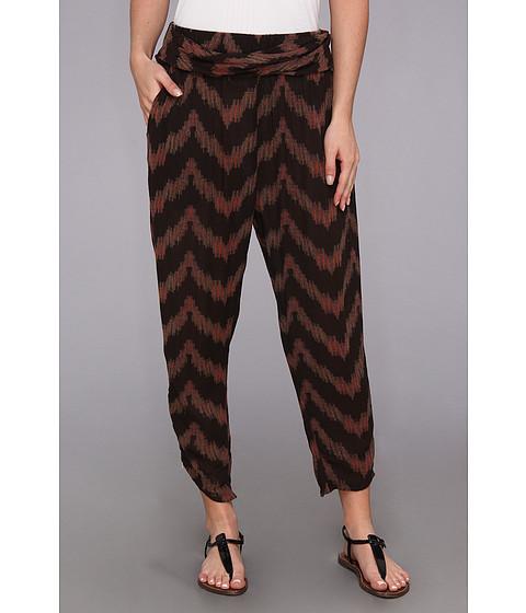 Pantaloni Free People - Printed Twisted Ikat Pant - Black Combo