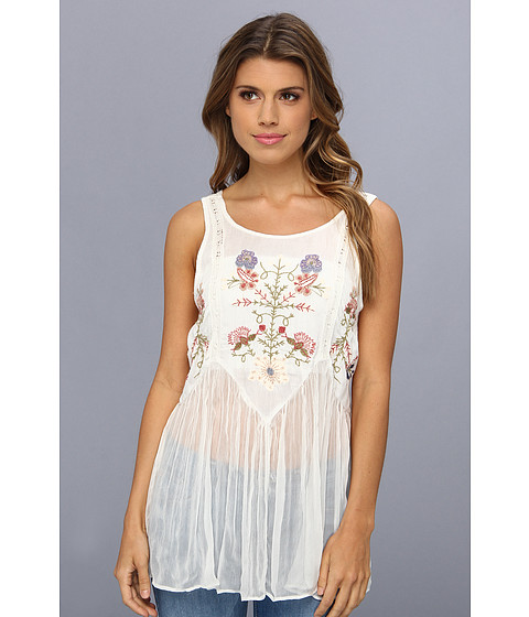Bluze Free People - In The Free World Top - Ivory