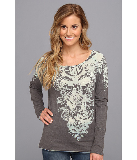 Bluze Fox - Transformation Pullover - Graphite