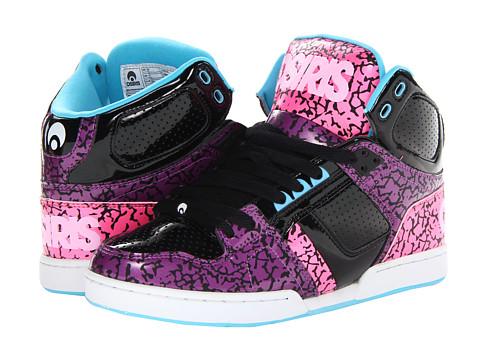 Adidasi Osiris - NYC83 Slim - Purple/Black/Pink