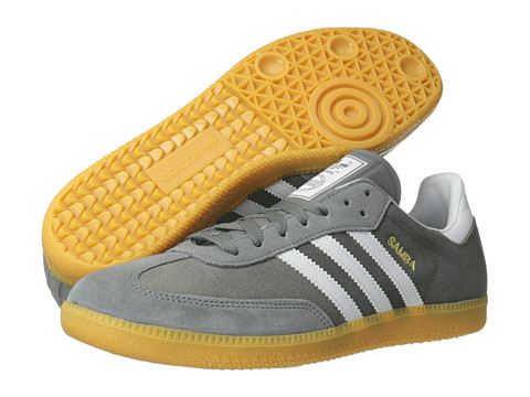 Adidasi Adidas Originals - Samba - St Crag/White/Metallic Gold