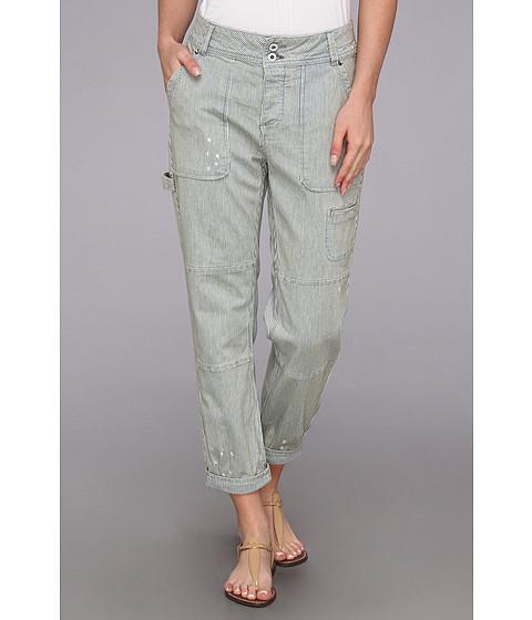 Pantaloni Free People - Railroad Stripe Carpenter Pant - Railroad Wash