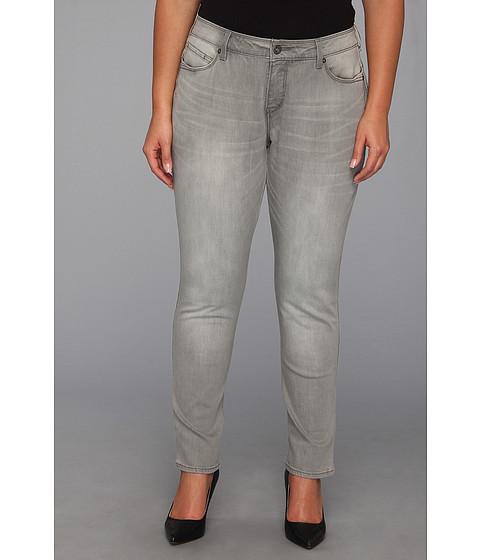 Blugi Levis - Plus Size Mid Rise Skinny Flatters & Flaunt Jean - Ash Grey/Lurex