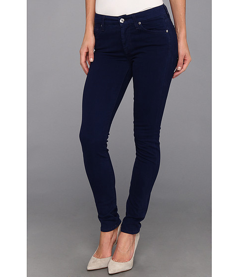 Blugi 7 For All Mankind - Skinny Sateen Twill in Ink - Ink