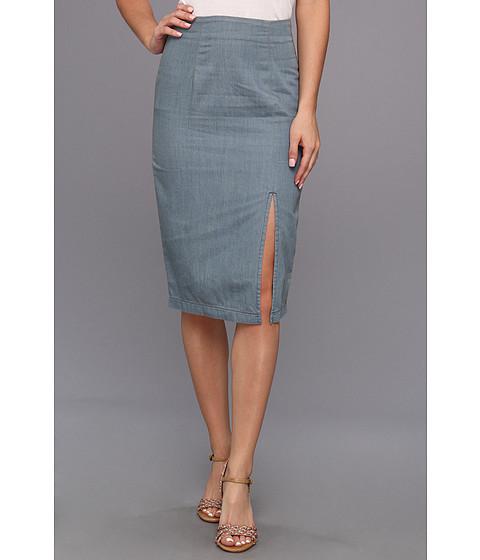 Fuste BCBGeneration - High Slit Pencil Skirt EJN3E616 - Indigo