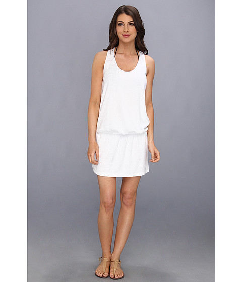 Costume de baie Splendid - Signature Terry Dress Cover-Up - White