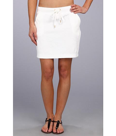 Fuste MICHAEL Michael Kors - Terry Cloth Short Skirt - White