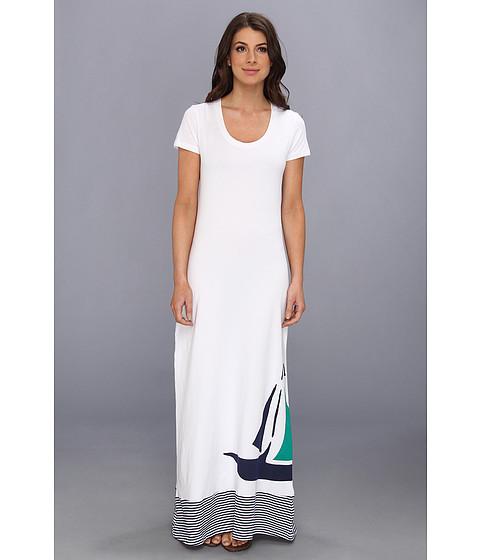 Lenjerie Tommy Bahama - Sailboat Long T-Shirt Dress - White/Mare Multi