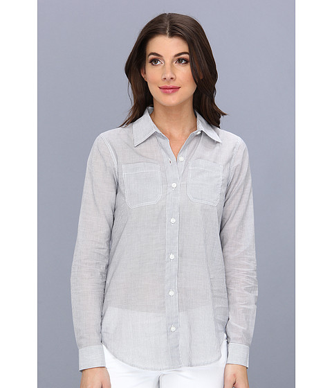 Camasi BCBGeneration - Signature Button Down Top TFC1S213 - Midnight White
