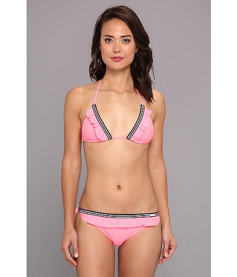 Costume de baie U.S. Polo Assn - Elastic Trim Bikini - Laser Pink