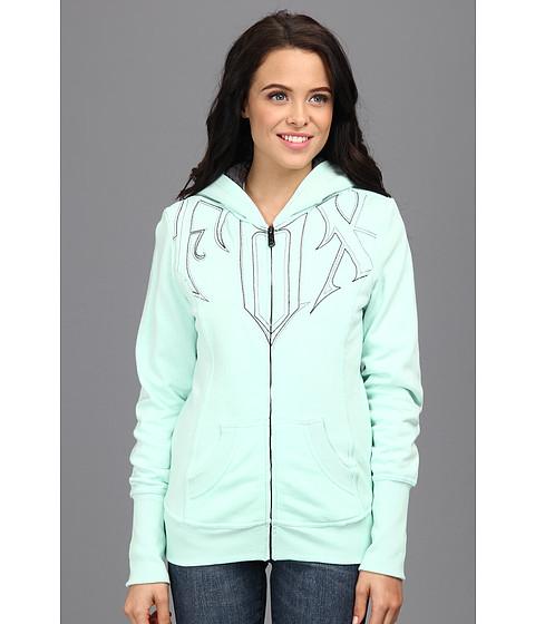 Bluze Fox - Validate Sherpa Zip Hoody - Mint