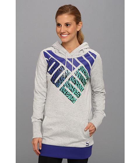 Bluze PUMA - Logo Graphic Hoodie - Light Grey Heather