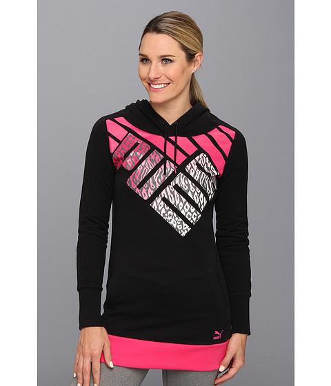Bluze PUMA - Logo Graphic Hoodie - Black