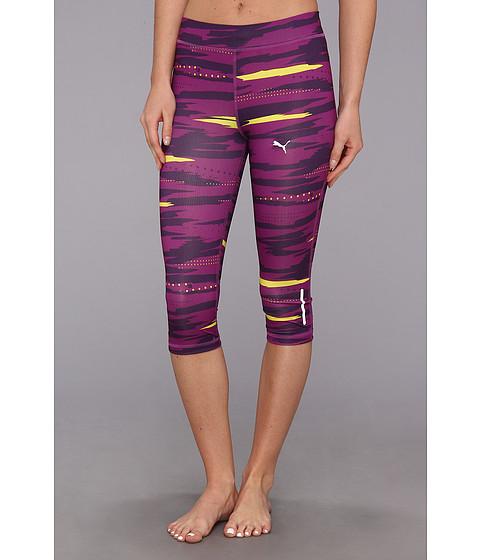 Pantaloni PUMA - Pr-Progr-Graphic 3/4 Tight - Sparkling Grape