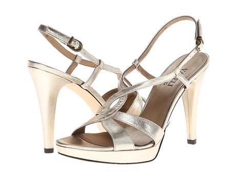 Pantofi Vaneli - Quartilla - Platino Met Nappa