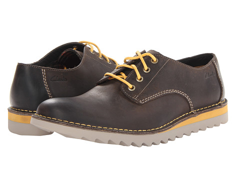 Pantofi Clarks - Newby Fly - Brown Leather