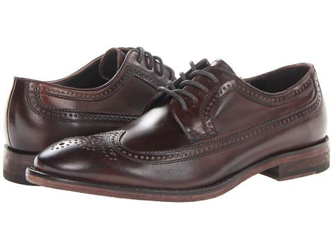Pantofi John Varvatos - Dearborne NYC Brogue Wingtip - Dark Brown