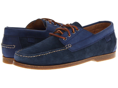 Pantofi Polo Ralph Lauren - Blackley 4 Eye - Pacific Blue/Blue Streak